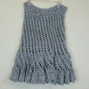 Dresses & Skirts - Gray Knit skirt